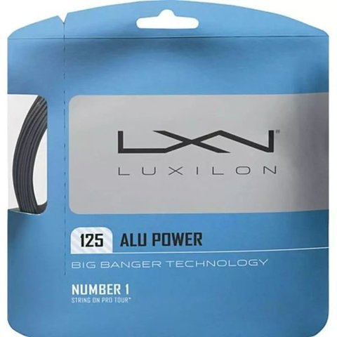 Струны теннисные Luxilon Big Banger Alu Power Silver 125 12.2M