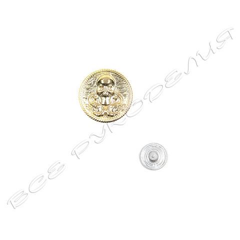 Кнопка «Череп» (фасовка 10 штук) 02-60-16024