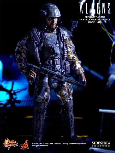 Aliens - USCM Sergeant Apone 12 inch model kit