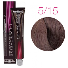 L'Oreal Professionnel Dia Richesse 5.15 (Ледяной коричневый) - Краска для волос