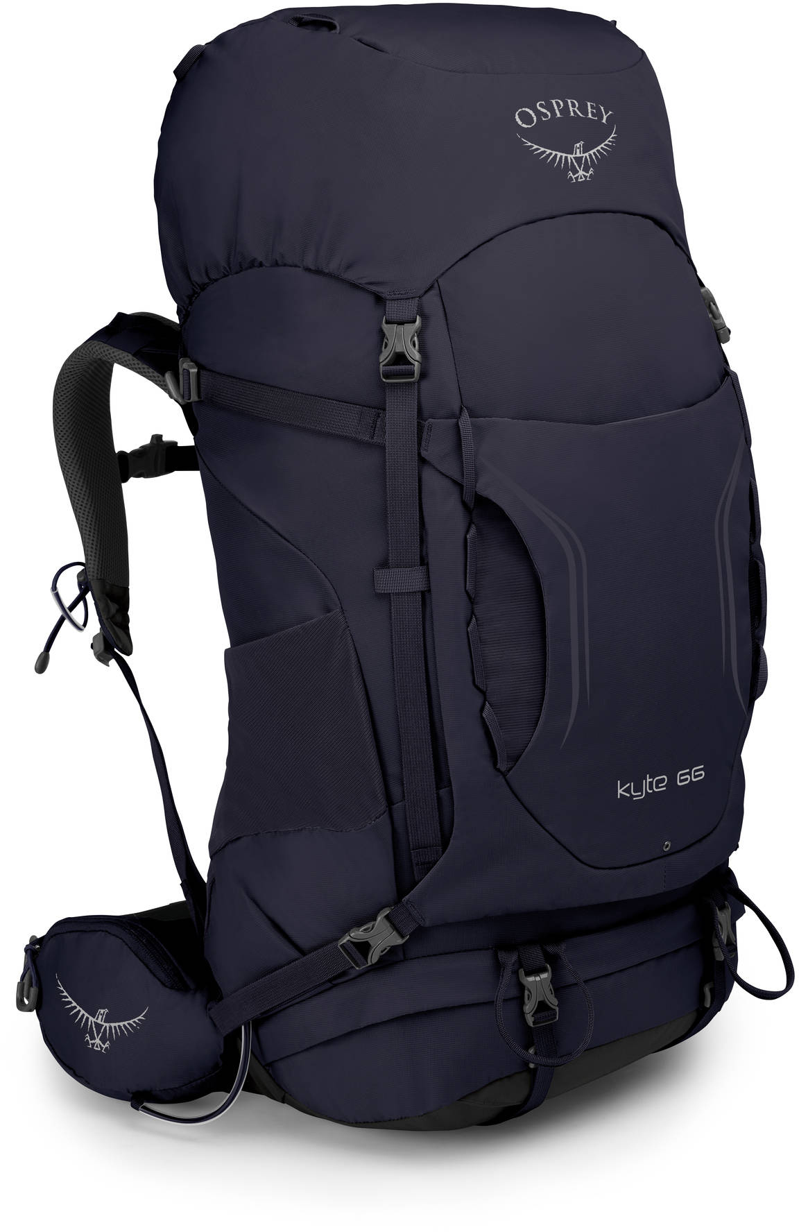 Kyte Рюкзак туристический Osprey Kyte 66 Mulberry Purple (2019) Kyte_66_S19_Side_Mulberry_Purple_web.jpg