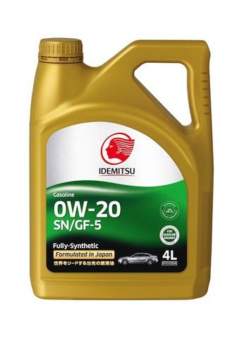 IDEMITSU SN/GF-5 0W20 F-S масло моторное
