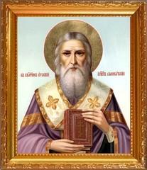 Евсевий Самосатский Священномученик, епископ. Икона на холсте.