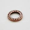 """Коннектор - кольцо TierraCast """"Hammertone"""" 9 мм (цвет-античная медь) ()"""