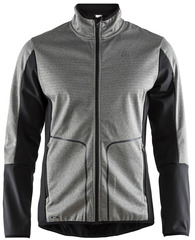 Элитная лыжная куртка Craft Sharp Softshell XC Grey мужская
