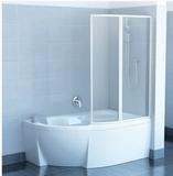 Шторка на ванну RAVAK VSK2 Rosa -150 L/R стекло