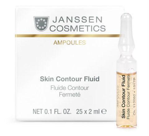 Anti-age лифтинг-сыворотка в ампулах с пептидами, Janssen Cosmetics, 7 х 2 мл.