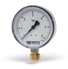 Манометр радиальный Watts F+R200 (1/4