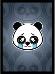 Legion Supplies - Sad Panda Протекторы матовые 50 штук