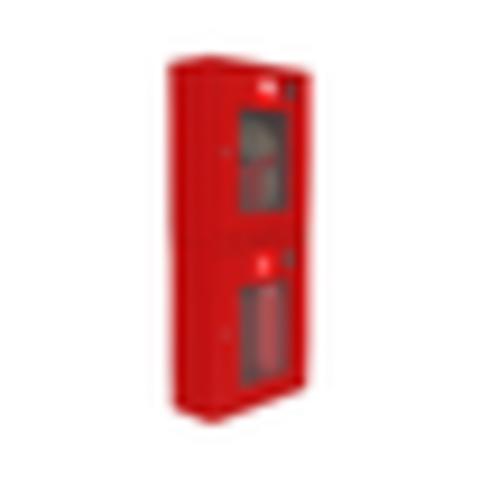 Шкаф пожарный красный ШПК-320 НОК правый