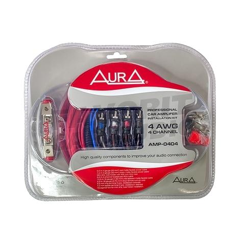 Комплект подкл. AURA AMP-0404 4*4GA