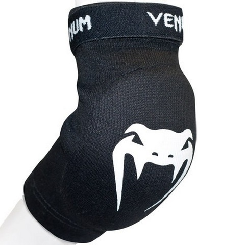 Налокотники Venum Kontact Elbow Protector - Cotton - Black