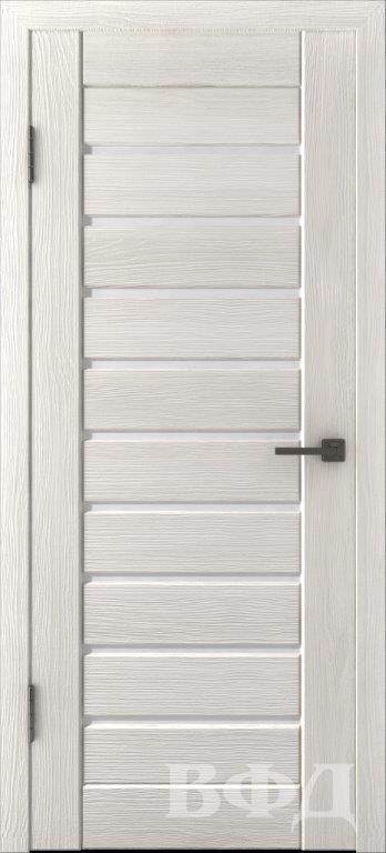 Л3ПГ5 Беленый дуб / белое стекло, Дверь межкомнатная,Владимирская Фабрика Дверей