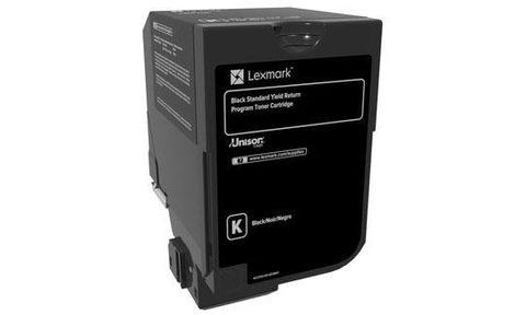 Картридж для принтеров Lexmark CX725de/CX725dhe/CS725de/CS720de черный (black). Ресурс 3000 стр (74C50KE)