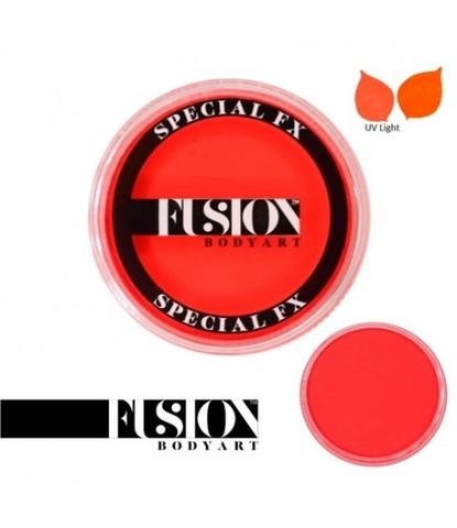 Аквагрим Fusion неоновый оранжевый 32 гр