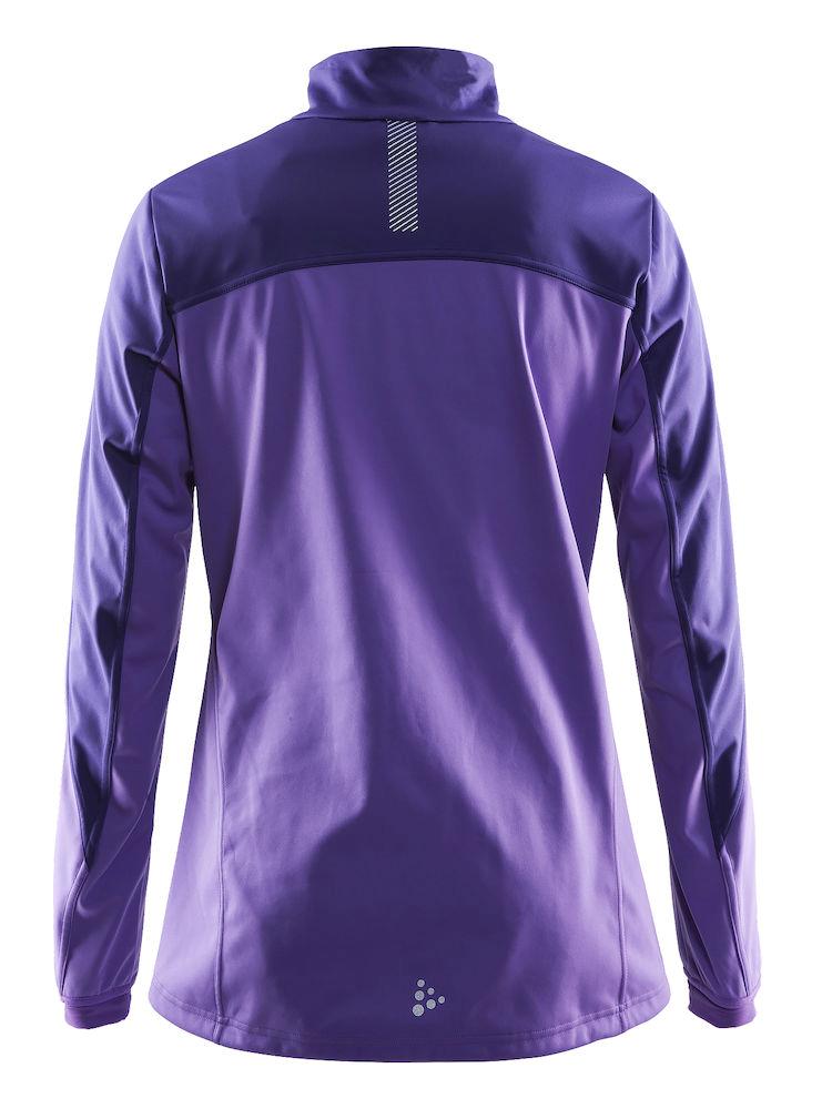 Женский утепленный лыжный костюм Craft Voyage XC для бега зимой (1903578-2495-1903582-9999) фиолетовый