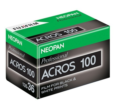 Фотопленка Fujicolor Neopan 100 Acros 135 36 кадров Ч/Б