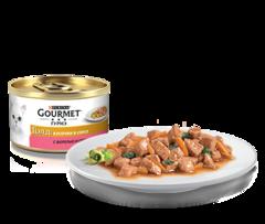 Gourmet Gold Суфле с форелью и томатами 85 г