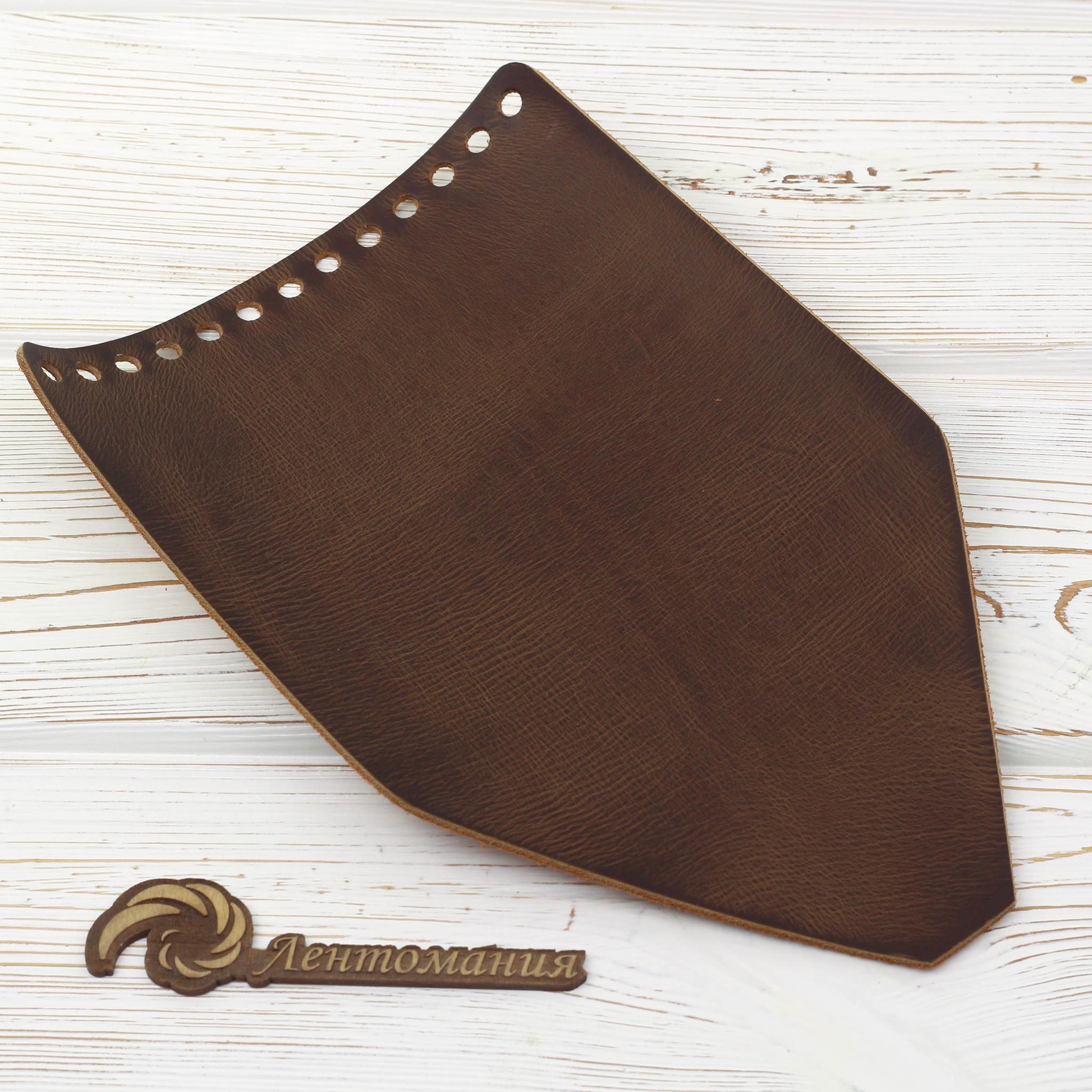 """Вся фурнитура Клапан для рюкзачка кожаный """"Чайный пулап"""" IMG_6048.jpg"""