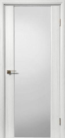 > Экошпон Дера Оскар 981, стекло триплекс белый, цвет сандал белый, остекленная