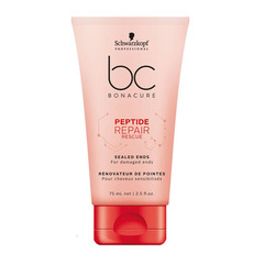 Средство для секущихся кончиков Schwarzkopf BC Bonacure Peptide Repair Rescue Sealed Ends Biomimetic