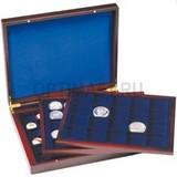 Презентационный кейс VOLTERRA TRIO de Luxe, 3 деревянных лотка с квадратными ячееками 30x30 mm, 39х39 и 48х48,