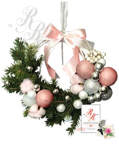 Рождественский венок 12