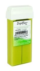 depiflax воск для депиляции кассета 110 г. аргана для сухой и склонной к шелушению