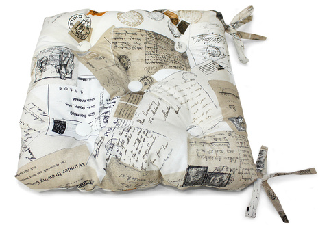 Подушка на стул Postcard
