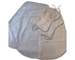 Чехол на круглую подушку d140см