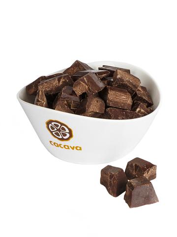 Тёмный шоколад 70 % какао (Эквадор), внешний вид