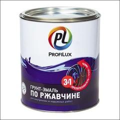 Грунт-эмаль на ржавчину Dufa Profilux 3 в 1 (Черный)