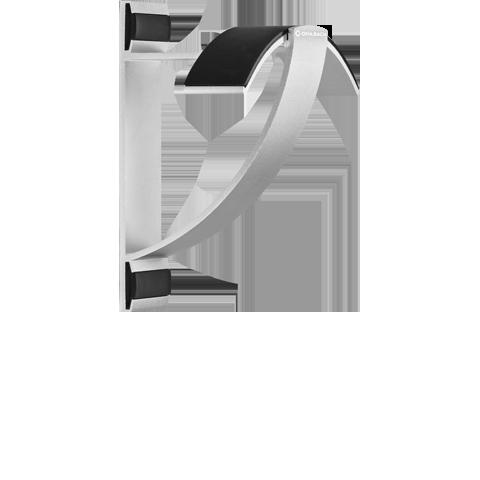 Oehlbach ALU STYLE W1 silver, подставка для наушников