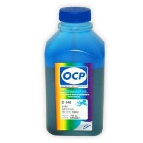 Чернила OCP C 140 Cyan light-stable (светостойкие) для Epson T50/T59/P50/TX800/TX700/TX650/RX610, 500 мл