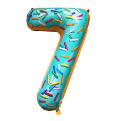 Y Фигура Цифра 7 Пончик 40