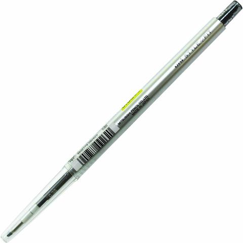 Гелевая ручка 0,38 мм Uni Style Fit - Black - чёрные чернила