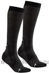 Комплект 2 пары Гольфы утеплённые Craft Warm XC черные