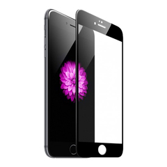Защитное 3D-стекло для iPhone 6/6S Black - Черное