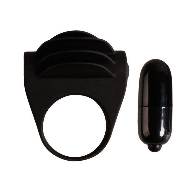 Эрекционные кольца: Рифленое эрекционное кольцо с вибрацией Chester