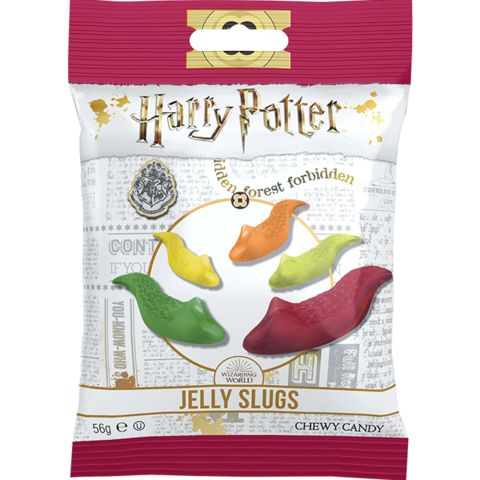 Harry Potter Jelly Slugs Жевательные слизни Гарри Поттер 56 гр