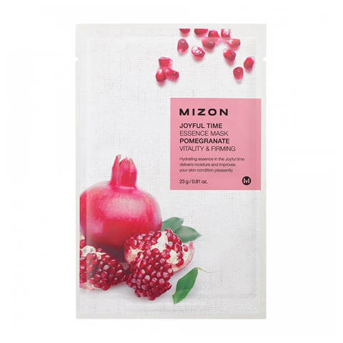 Mizon Joyful Тканевая маска для лица с экстрактом граната 23г