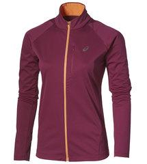 Женская спортивная куртка Asics SoftShell Jacket 134706 6019 сиреневая