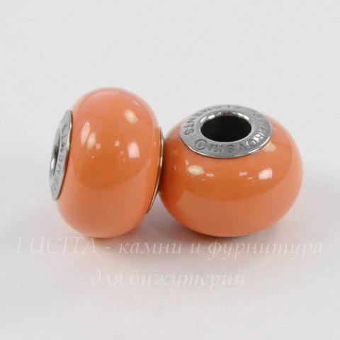 5890 Бусина Сваровски BeCharmed Pearl Crystal Coral 14х10 мм