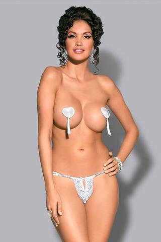 Пэстисы Tassel Nipple Covers White Obsessive