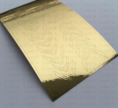 Металлизированные наклейки №122 Gold