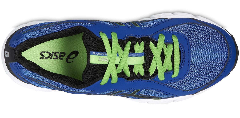Детские беговые кроссовки для мальчика Asics Gel Xalion 2 GS (C439N 4290) синие фото