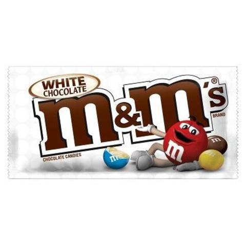 Шоколадное драже M&M's White Chocolate с белым шоколадом 70 гр