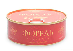 Форель радужная в томатном соусе, 240г