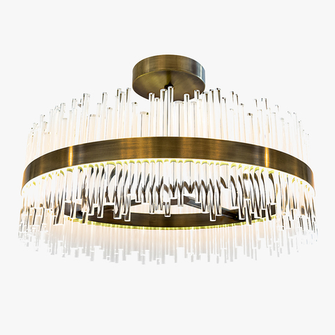 replica light  BOND STREET ROUND CHANDELIER by BELLA FIGURA