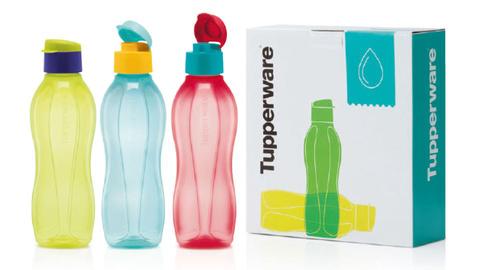 Подарочный набор эко бутылок tupperware